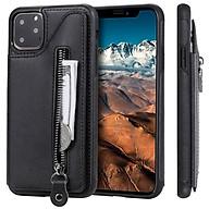 Bao da dành cho Iphone 11 Pro Max - 6.5 Inch kiêm ví tiền đựng thẻ, card cầm tay siêu tiện lợi thumbnail