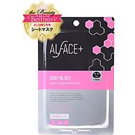 Mặt Nạ Than Tre Siêu Dưỡng Ẩm Nhật Bản Alface Aqua Moisture Sheet Mask Deep Black, Dành Cho Da Khô, Với 17 Loại Axit Amin, Axit Hyaluronic HA, Collagen, Elastin Giúp Da Bóng Khỏe Và Săn Chắc thumbnail