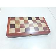Bàn cờ vua bằng gỗ hương 35 x 36 cm thumbnail