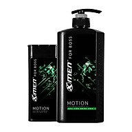 Combo Sữa tắm nước hoa X-Men for Boss Motion 650g + Dầu gội nước hoa X-Men for Boss Motion 180g thumbnail