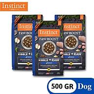 COMBO 3 GÓI 500g Thức ăn cho chó cao tuổi từ gà thật Instinct Real Chicken Real Chicken for Senior dogs (Túi 500g) thumbnail