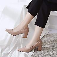 giày cao gót mũi nhọn kiểu búp bê công sở mẫu mới 2021 thumbnail