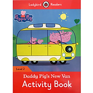 Peppa Pig Daddy Pig s New Van Activity Book - Ladybird Readers Level 2 (Paperback) thumbnail