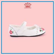 Giày Búp Bê Bé Gái Crown Space Crown UK Princess Ballerina CRUK3112 - Màu trắng Cao Cấp Nhẹ Êm Thoáng Mát Size 28-36 4-14 Tuổi thumbnail