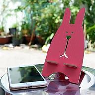 Giá đỡ điện thoại hình thỏ bằng gỗ ngộ nghĩnh thumbnail
