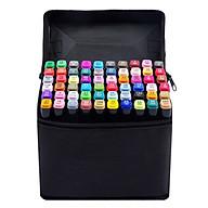 Bộ 60 cây Bút Touch Mark màu đen cao cấp - tặng 2 bút line đen và trắng thumbnail