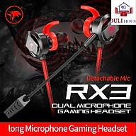 Tai Nghe RX3 Cao Cấp Có Mic Hỗ Trợ Chơi Game Pubg Freefire Liên Quân Mobile - Hàng Chính Hãng thumbnail