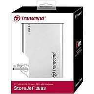 Box ổ cứng Transcend 2.5 inch USB 3.1 StoreJet 25S3 TS0GSJ25S3 - Hàng Chính Hãng thumbnail