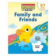 Scholastic Learning Express Social Studies K1 Family and Friends thumbnail