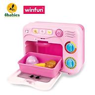 Bộ đồ chơi nướng bánh Winfun 0761 có đèn nhạc - giúp hướng nghiệp, phát triển tư duy xã hội - Bếp đồ chơi nấu ăn cho bé - tặng đồ chơi tắm màu ngẫu nhiên thumbnail