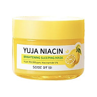 Mặt Nạ Ngủ Dưỡng Trắng Sáng Da Some By Mi Yuja Niacin 30 Days Miracle Brightening Sleeping Mask 60g [ Được Mask 3W Clinic ] thumbnail