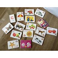 Thẻ học song ngữ cho bé 16 chủ đề thumbnail