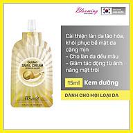 Kem dưỡng ẩm ngừa vết nhăn, chiết xuất dịch nhầy ốc sên Beausta Golden Snail Cream15ml thumbnail