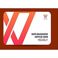 Phần mềm WPS Office 2019 Professional (Yearly) - Hàng chính hãng thumbnail