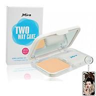 Phấn nén trang điểm siêu mịn Mira Two Way Cake Hàn Quốc 12g No.13 Bright Beige tặng kèm móc khoá thumbnail