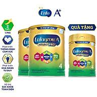 Bộ 2 lon sữa bột Enfagrow A+ Neuropro 4 Vị thanh mát với dưỡng chất DHA & MFGM cho trẻ từ 2 6 tuổi- 1.7kg - Tặng 1 lon 830g thumbnail