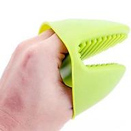 Găng tay lót Silicon chống nóng 1 đôi_giao màu ngẫu nhiên thumbnail