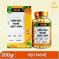 Viên kẹo nghệ mật ong Collagen TORO 200 gram - Chứa Collagen - [TORO FARM] - [TORO COFFEE] thumbnail
