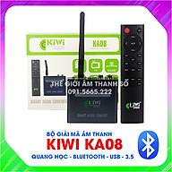DAC giải mã âm thanh Kiwi KA08 - có blueooth, bảo hành 12 tháng - Hàng chính hãng thumbnail
