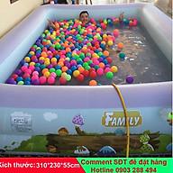 Bể bơi phao gia đình Summer Baby KT 315 250 55CM (tặng kèm bơm điện) thumbnail