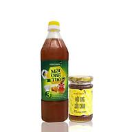 Combo Mật ong thô Honeyboy 1 lít và Mật ong sữa chúa 100ml thumbnail