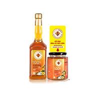Bộ sản phẩm Mật ong chín Honimore Hoa Cao Nguyên 630g - Mật ong rừng nguyên chất thumbnail