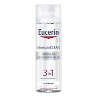 Nước Tẩy Trang Dịu Nhẹ Cho Da Nhạy Cảm Eucerin Dermato Clean Micellar Cleansing Fluid 3 In 1 (200ml) thumbnail