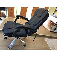 Ghế massage văn phòng - ghế da có gác chân 2020 thumbnail