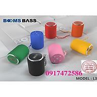 Loa Bluetooth Không Dây Mini Booms Bass-L3 - HÀNG CHÍNH HÃNG thumbnail