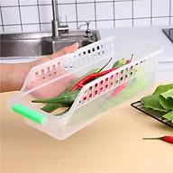 Khay Nhựa Đựng Rau Củ Đồ Dùng Tủ Lạnh (Tiện lợi, dễ sử dụng) thumbnail