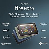 Máy tính bảng Kindle Fire HD10 2021 - 11th - (All New Fire HD10 - 2021) - Ram 3GB, bộ nhớ 32GB, màn hình 1080 FullHD thumbnail