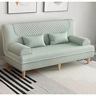 Sofa đôi phòng khách - ghế ngồi kèm giường nằm đa năng, 2 in 1 (kt 62x120x51cm) thumbnail