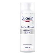 Nước Cân Bằng Cho Da Nhạy Cảm Eucerin DermatoCLEAN Clarifying Toner (200ml) thumbnail