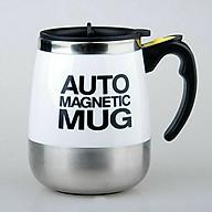 Cốc tự khuấy Auto Magnetic Mug 450ml (Giao màu ngẫu nhiên) - Tặng kèm đèn pin bóp tay mini thumbnail