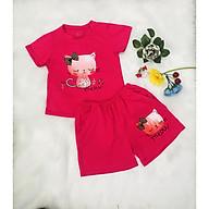 Đồ bộ thun mặc nhà cho bé gái 2-8 tuổi. thumbnail
