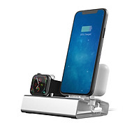 Đế sạc đứng nhôm nguyên khối 3 trong 1 cho Iphone, Apple watch, Airpods T030B Vu Studio - Hàng chính hãng thumbnail