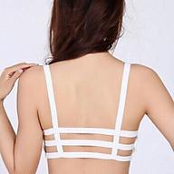 Áo bra 3 dây 3 màu đen, trắng, da có đệm ngực thumbnail
