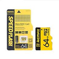 Thẻ nhớ MicroSD Remax 64Gb Class 10 - Hàng chính hãng thumbnail