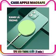 Ốp bảo vệ, hỗ trợ sạc Apple MagSafe Iphone 12 12 Pro và 12 Pro Max nhựa TPU - nhiều màu thumbnail