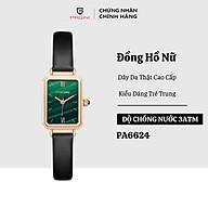 Đồng Hồ Nữ Thương Hiệu PAGINI PA6624G - Thiết Kế Mặt Vuông Độc Đáo - Hàng FullBox thumbnail