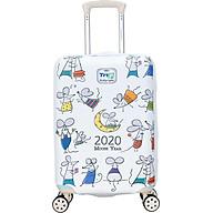 Bộ sưu tập áo trùm vali TRIP vải thun 4D cao cấp đủ 3 size thumbnail