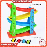 Đồ Chơi Xe Cầu Trượt 4 Tầng Bằng Gỗ - Xe ZÍC Zắc Cho Bé thumbnail
