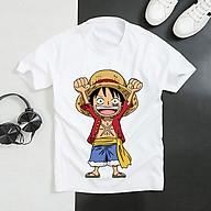 Áo thun Nam Nữ Không cổ ONEPIECE LUFFY YEAR MSOP-14 mẫu mới cực đẹp, có size bé cho trẻ em áo thun Anime Manga Unisex Nam Nữ, áo phông thiết kế cổ tròn basic cộc tay thoáng mát thumbnail
