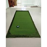 THẢM TẬP GOLF PUTTING 3mx1.5m (Tặng kèm 2 lỗ golf) thumbnail