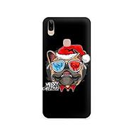 Ốp lưng dẻo cho điện thoại Vivo V9 - Y85 - 01113 7939 BULLDOG03 - Bulldog chúc mừng Giáng Sinh - Hàng Chính Hãng thumbnail