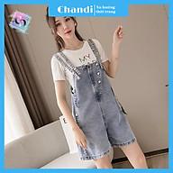 Yếm Jean Nữ Thương Hiệu Chandi, Yếm Nữ Quần cao cấp mẫu mới hot trend 2021 mã NT336 thumbnail