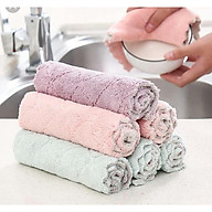 Khăn lau vải sợi Microfiber lau sàn nhà,lau xe, nhà tắm, nhà bếp,lau khô lông vật nuôi,lau tay,lau khô bát đũa. thumbnail