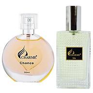 Cặp đôi nước hoa nữ Charme Chance (30ml) và nam Charme Iris (30ml) thumbnail