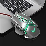 Chuột cơ gaming led RGB 3200DPI - X400S Gray mechanical Gaming mouse 11 Key hàng nhập khẩu thumbnail