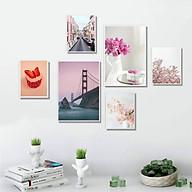 Tranh treo tường trang trí phòng khách, phòng ngủ. PVP-TP187 Tặng kèm khung và đinh ba chân treo tranh chuyên dụng thumbnail